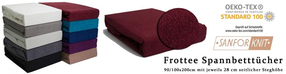 Frottee 90/100x200cm