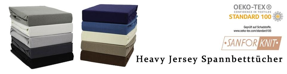 Heavy Jersey Bettlaken