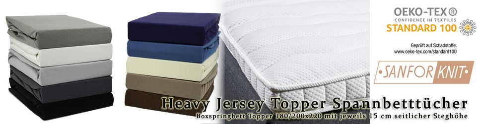180/200x200+15cm Topper