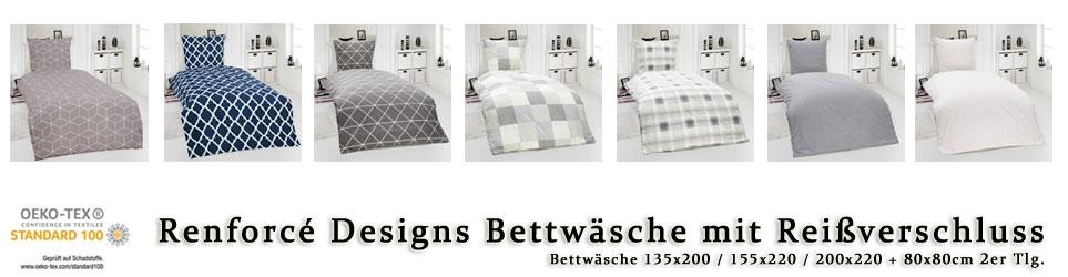 Renforcé Designs Bettwäsche