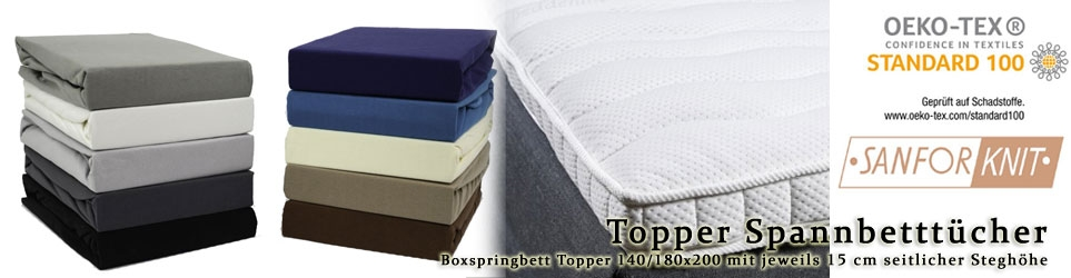 140/160x200+15cm Topper