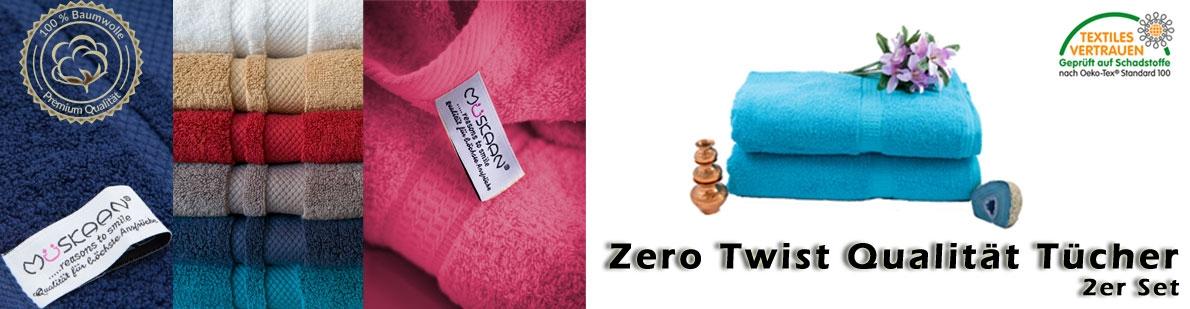 Zero Twist Tücher