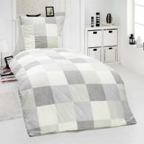 2-tlg Renforcé Bettwäsche 100% Baumwolle Designs-Mehrfarbig-155x220cm + 80x80cm 2er Tlg
