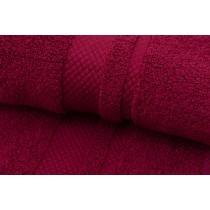 2er Set Handtücher 100% BW, 550/m², Zero Twist-Bordeaux-50x100cm