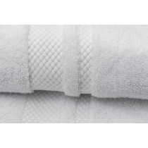 2er Set Handtücher 100% BW, 550/m², Zero Twist-Weiß-50x100cm