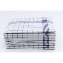 Geschirrtücher 100% Baumwolle-Blau-10 Stück 50x70cm