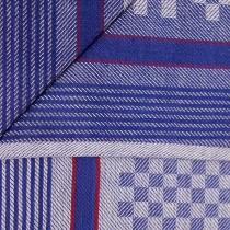 Grubentücher 100% Baumwolle-Blau-5 Stück 45x90cm