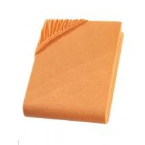 Wasserbett & Boxspringbett Spannbettlaken mit Elasthan-Orange-200x220+40cm