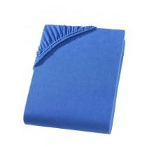 Jersey Spannbettlaken Boxspring 100% Baumwolle-Royal-180/200x200/220+40cm