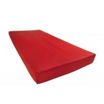 Mikrofaser Spannbettlaken 100% Polyester Rot-140/160x200+28cm