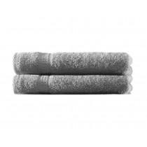 Handtuch 100% BW, 500g/m², Zero Twist, flauschig weich-Anthrazit-50x100cm