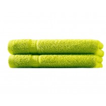 Handtuch 100% BW, 500g/m², Zero Twist, flauschig weich-Apfelgrün-50x100cm