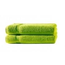 2er Set Handtuch 100% Baumwolle - 50x100cm in 500g/m² -Apfelgrün