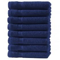 Frottiertücher Pack 100% BW, 500g/m², flauschig weich-Navy / Marine-4 Stück 50x100cm - Handtuch