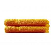 Handtuch 100% BW, 500g/m², Zero Twist, flauschig weich-Orange-50x100cm