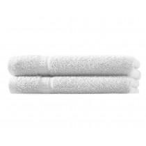 Handtuch 100% BW, 500g/m², Zero Twist, flauschig weich-Weiß-50x100cm