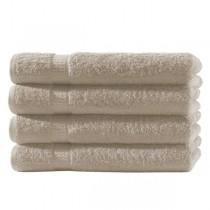 Frottiertücher Pack 100% BW, 500g/m², flauschig weich-Beige-4 Stück 50x100cm - Handtuch