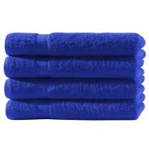 4er Pack Handtücher 100% Baumwolle 500g/m² -Royal-50x100cm