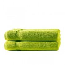 Frottiertücher Pack 100% BW, 500g/m², flauschig weich-Apfelgrün-2 Stück 70x140cm - Duschtuch