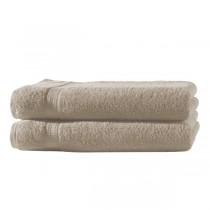 Frottiertücher Pack 100% BW, 500g/m², flauschig weich-Beige-2 Stück 70x140cm - Duschtuch