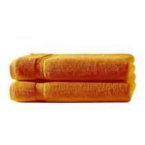 Frottiertücher Pack 100% BW, 500g/m², flauschig weich-Orange-2 Stück 70x140cm - Duschtuch