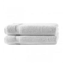 Frottiertücher Pack 100% BW, 500g/m², flauschig weich-Weiß-2 Stück 70x140cm - Duschtuch