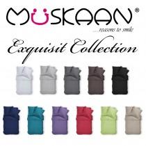 Renforcé Uni Bettwäsche aus 100% Baumwolle in 11 Farben