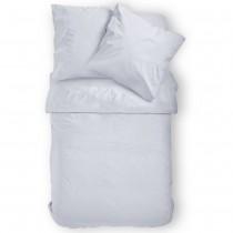 Renforcé Uni Bettwäsche aus 100% Baumwolle in 11 Farben-Weiß-155x220cm + 80x80cm 2er Tlg